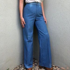 [vintage] Levi's 70s high waist bellbottom jeans
